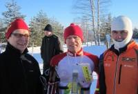 Teuvo, Hessu ja Risto hymyävät hopeisesti!