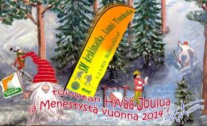 SOC Asikkala toivottaa kaikille rauhaisaa Joulua ja onnellista uutta vuotta 2014!